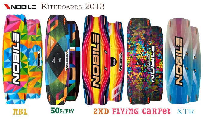 Nobile kiteboards overview