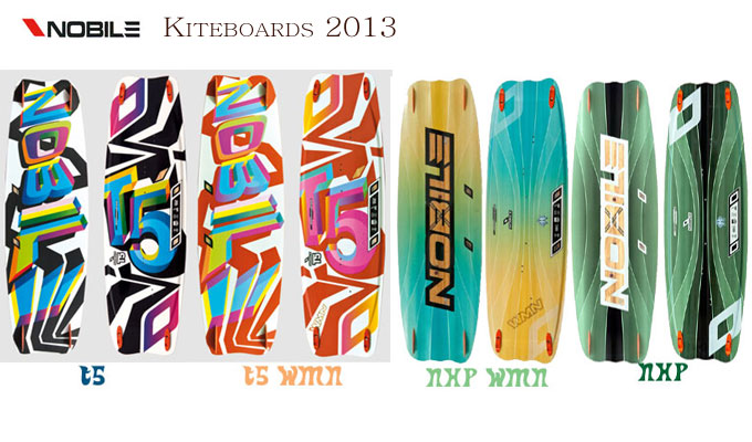 Nobile kiteboards overview1